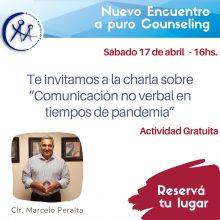 ENCUENTRO A PURO COUNSELING – 17/4
