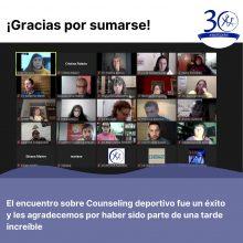 COUNSELING DEPORTIVO – Mesa Redonda 30º Aniversario