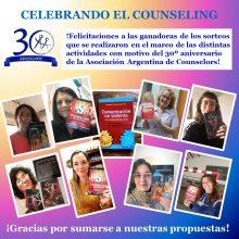 30º Aniversario – Ganadoras de Libros!