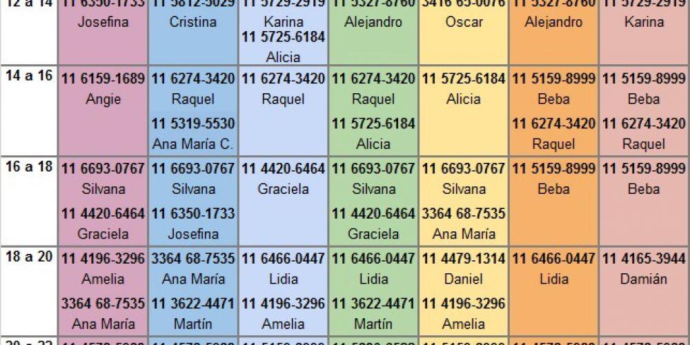 GRILLA 2021 – SERVICIO GRATUITO A DISTANCIA DE ESCUCHA y ORIENTACIÓN de la AAC